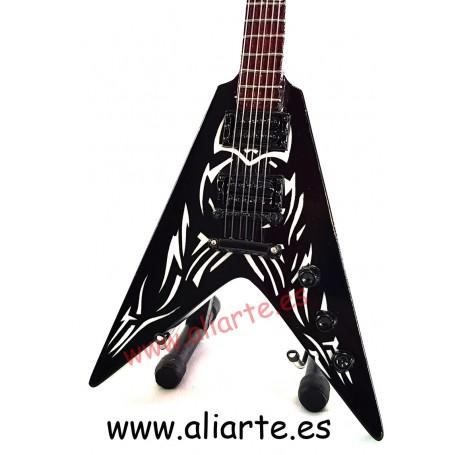 Miniatura de guitarra de Slayer, de Kerry King