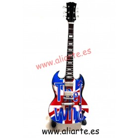 "Miniatura de Guitarra de ""The Who"" 2"