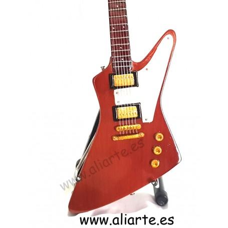 Miniatura de guitarra de U2 The Edge