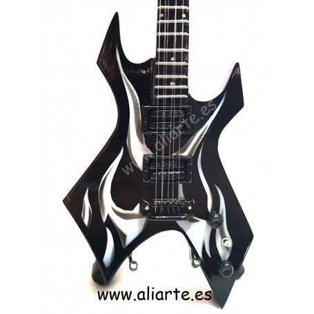 Miniatura de guitarra de Slayer 3 - Kerry King - Beast Kk Wartribe