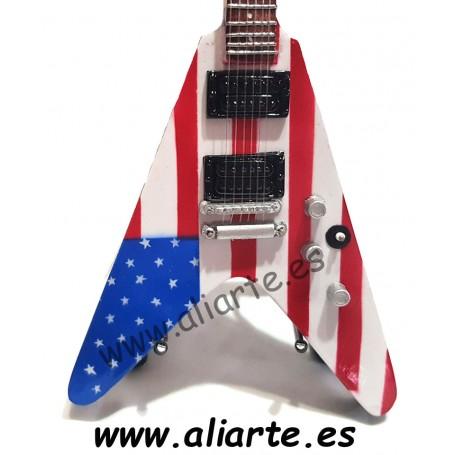 Miniatura de guitarra de Megadeth Dave Mustaine