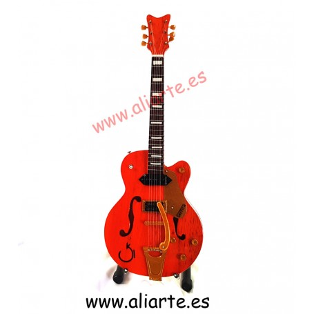 Miniatura de guitarra Gretsch G6120 Eddie Cochran