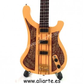 Miniatura de guitarra de Lemmy Motorhead