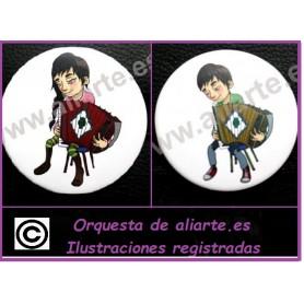 Acordeón Chapa  Chica/Chico