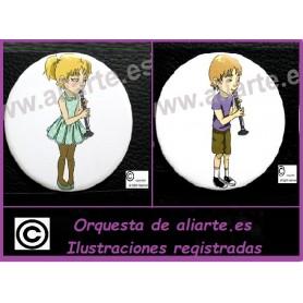 Clarinete Chapa Orquesta Aliarte