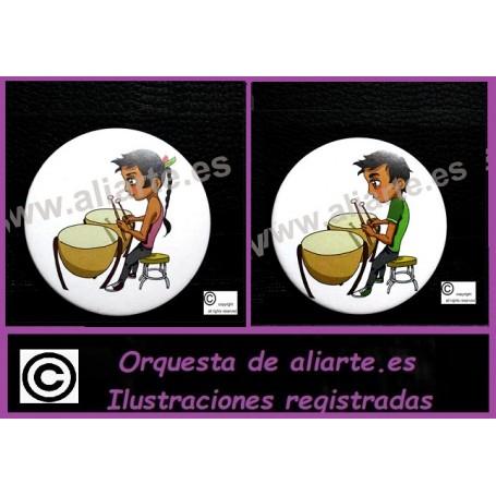 Timbal Chapa Orquesta de aliarte