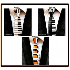 Corbatas motivos Piano