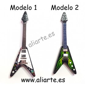 Imán de Guitarra Flying V