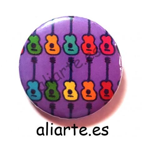 Guitarras de colores Chapa