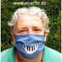 Mascarilla higiénica Sonrisa Piano