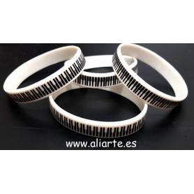 Pulsera piano invertido
