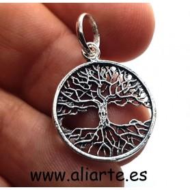 Colgante Árbol de la Vida PLATA pequeño