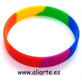 Pulsera Orgullo Colores Arcoiris