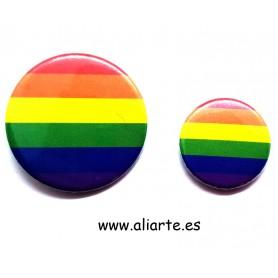 Chapa Colores Orgullo Gay