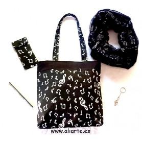 Pack Bolso Pentagrama Negro