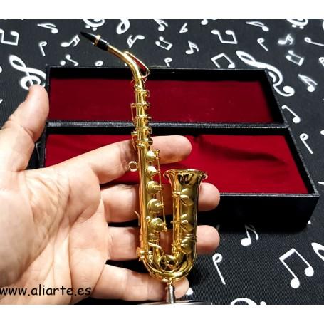 Miniatura de Saxofón