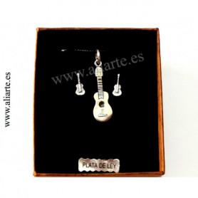 Conjunto Guitarra de plata