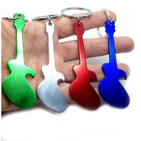 Llavero Abrebotellas en forma de Guitarra