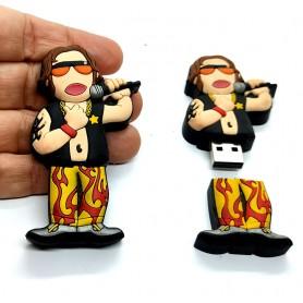 Pen USB en forma de Rockero