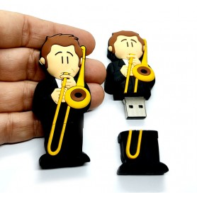 Pen USB en forma de trombonista