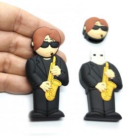 Pen USB en forma de Saxofonista
