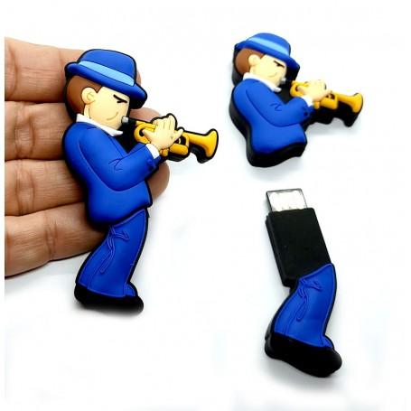 Pen USB en forma de Trompetista