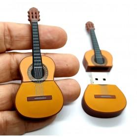 Pen USB en forma de guitarra