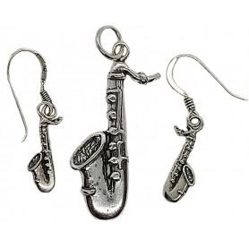 Conjunto saxofón Plata 1