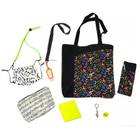 Pack Bolso Pentagrama Colorines
