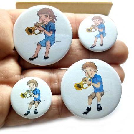 Trompeta Chapa Orquesta Aliarte