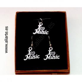 """Conjunto """"I love music"""""""