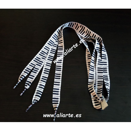 Cordones zapatillas piano