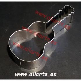 Cortador repostería en forma  de guitarra