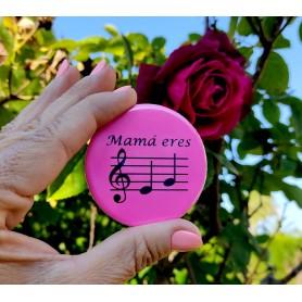Imán-Abre botellas con mensaje secreto para músicos para la MAMI: Mamá Eres MI SOL
