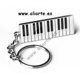 Llavero piano teclado