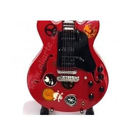Miniatura de guitarra de Alvin Lee
