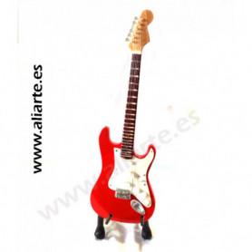 Miniatura de guitarra de Mark  knopfler