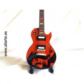 Miniatura de guitarra de Bob Marley 2