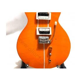 Miniatura de guitarra de Carlos Santana