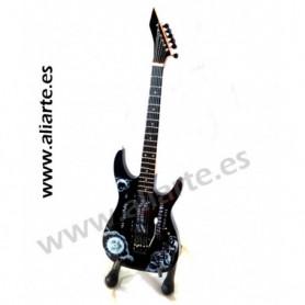 Miniatura de guitarra de Metallica (Ouija)