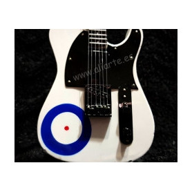 "Miniatura de Guitarra de ""The Who"""