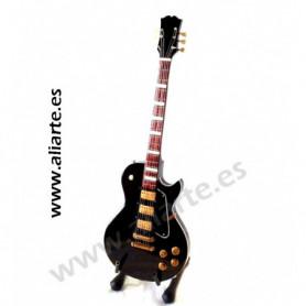Miniatura de Guitarra ESP Black