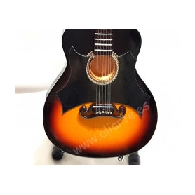 Miniatura de guitarra de Johnny Cash