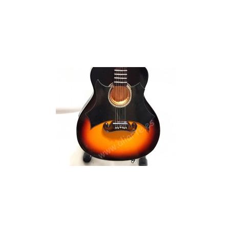 Miniatura de guitarra de Johnny Cash