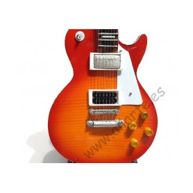 Miniatura de Guitarra Gibson Les Paul de Jimmy Page