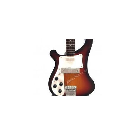 Miniatura de Bajo Eléctrico Rickenbacker de Paul McCartney