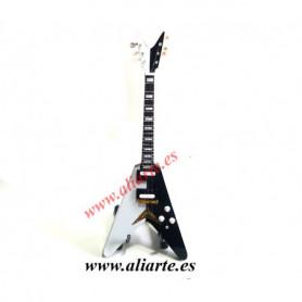 Miniatura de Guitarra flying V Scorpions