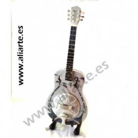 Miniatura de guitarra de Mark Knopler