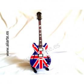 Miniatura de guitarra de Oasis Epifhone union Jazz