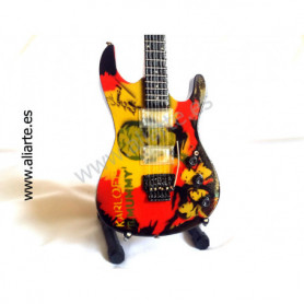 Miniatura de guitarra de Metallica KH 2 The Mummy